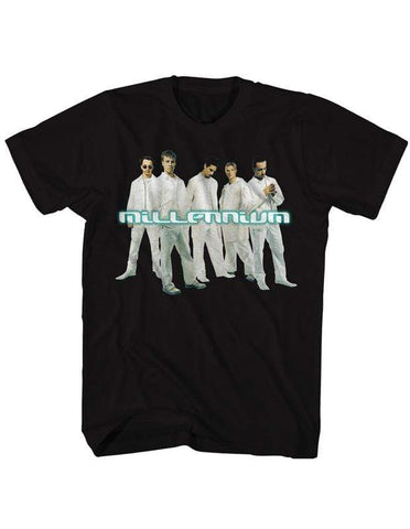 Imported T-SHIRT Millennium Group Photo Backstreet Boys T-Shirt