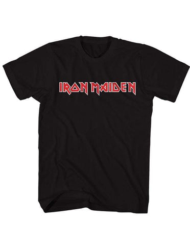 Imported T-SHIRT Official Logo Iron Maiden T-Shirt
