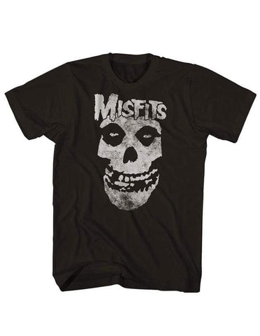 Imported T-SHIRT Official Skull Logo Misfits T-Shirt