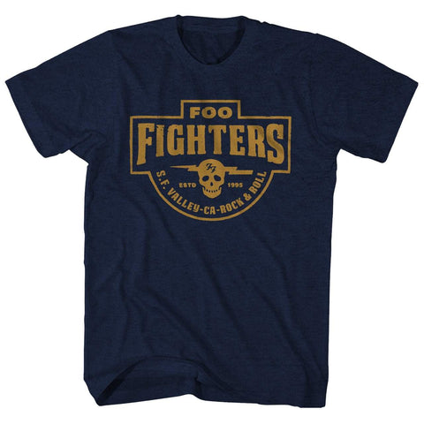 Imported T-SHIRT S.F. Valley Logo Foo Fighters T-Shirt