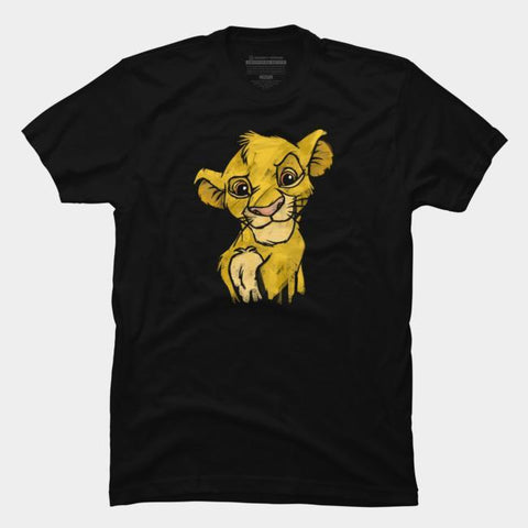Imported T-SHIRT Simba Print