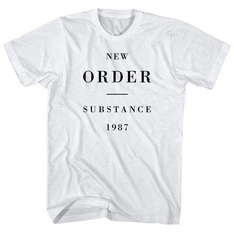 Imported T-SHIRT Substance 1987 Album Art New Order T-Shirt