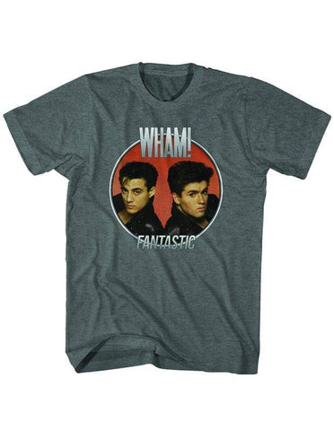 Imported T-SHIRT Wham Fantastic Album T-Shirt