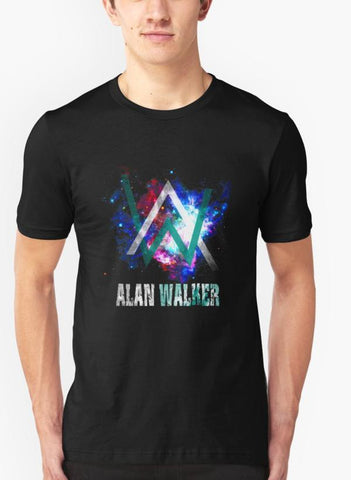 Imtiaz Zuhaib T-SHIRT Alan Galaxy Black Tshirt