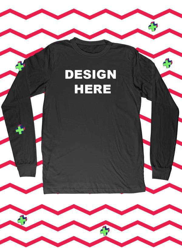 015861d56 Design your own Full Sleeves T-shirt | Custom T-Shirt | T-Shirt Printing ...