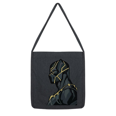 kite.ly Accessories Melange Black Black Panther By Hassan Sheikh Tote Bag