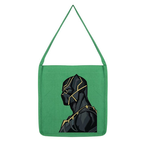 kite.ly Accessories Melange Green Black Panther By Hassan Sheikh Tote Bag