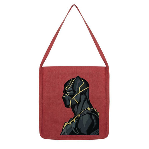 kite.ly Accessories Melange Red Black Panther By Hassan Sheikh Tote Bag