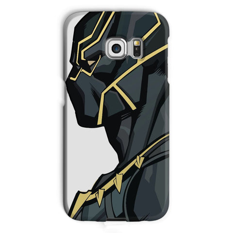 kite.ly Phone & Tablet Cases Galaxy S6 Edge / Snap / Gloss Black Panther By Hassan Sheikh Phone Case