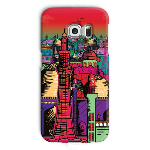 kite.ly Phone & Tablet Cases Galaxy S6 Edge / Snap / Gloss Lahore on Drugs Phone Case