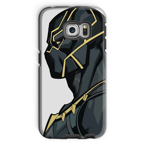 kite.ly Phone & Tablet Cases Galaxy S6 Edge / Tough / Gloss Black Panther By Hassan Sheikh Phone Case