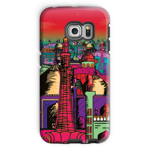 kite.ly Phone & Tablet Cases Galaxy S6 Edge / Tough / Gloss Lahore on Drugs Phone Case