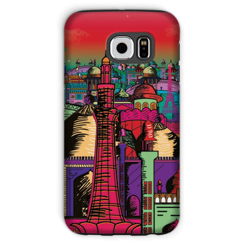 kite.ly Phone & Tablet Cases Galaxy S6 / Tough / Gloss Lahore on Drugs Phone Case
