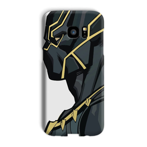 kite.ly Phone & Tablet Cases Galaxy S7 Edge / Snap / Gloss Black Panther By Hassan Sheikh Phone Case