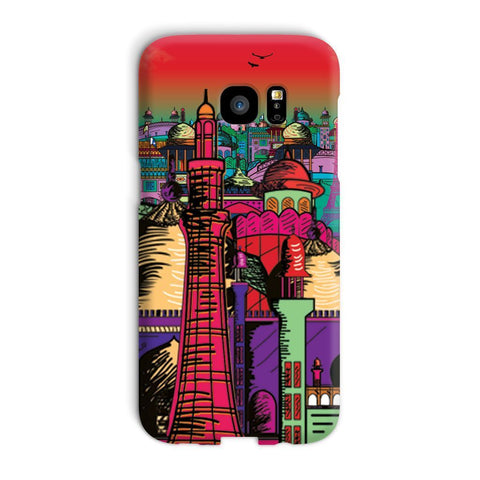 kite.ly Phone & Tablet Cases Galaxy S7 Edge / Snap / Gloss Lahore on Drugs Phone Case