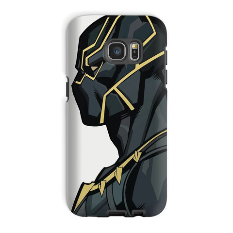 kite.ly Phone & Tablet Cases Galaxy S7 Edge / Tough / Gloss Black Panther By Hassan Sheikh Phone Case