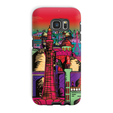 kite.ly Phone & Tablet Cases Galaxy S7 Edge / Tough / Gloss Lahore on Drugs Phone Case