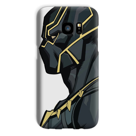 kite.ly Phone & Tablet Cases Galaxy S7 / Snap / Gloss Black Panther By Hassan Sheikh Phone Case