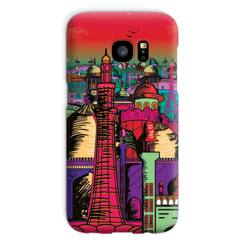 kite.ly Phone & Tablet Cases Galaxy S7 / Snap / Gloss Lahore on Drugs Phone Case