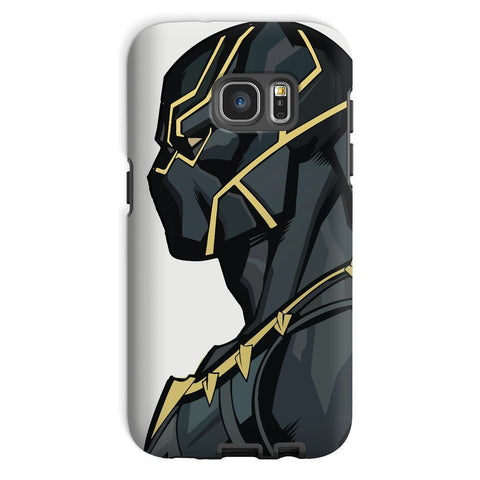 kite.ly Phone & Tablet Cases Galaxy S7 / Tough / Gloss Black Panther By Hassan Sheikh Phone Case