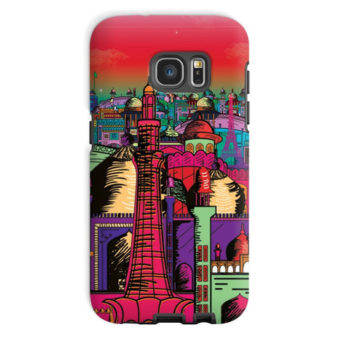 kite.ly Phone & Tablet Cases Galaxy S7 / Tough / Gloss Lahore on Drugs Phone Case
