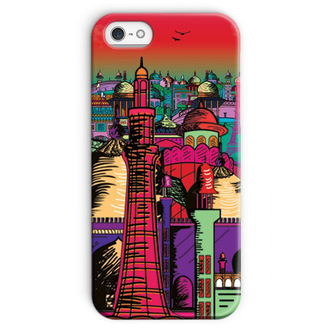 kite.ly Phone & Tablet Cases iPhone 5/5s / Snap / Gloss Lahore on Drugs Phone Case