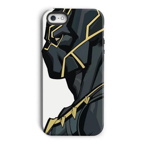 kite.ly Phone & Tablet Cases iPhone 5/5s / Tough / Gloss Black Panther By Hassan Sheikh Phone Case