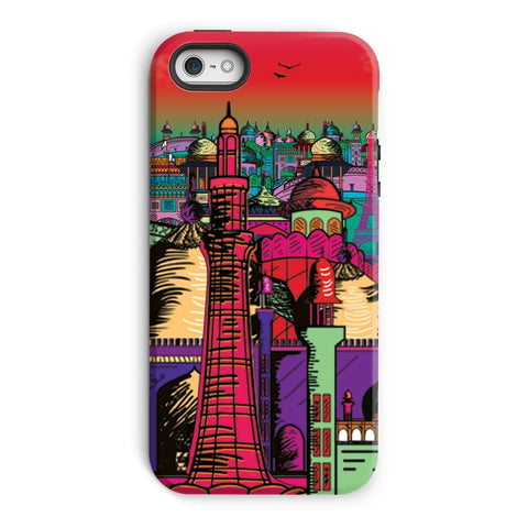 kite.ly Phone & Tablet Cases iPhone 5/5s / Tough / Gloss Lahore on Drugs Phone Case