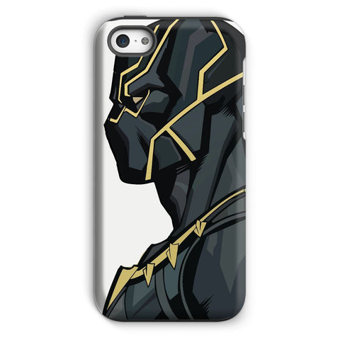 kite.ly Phone & Tablet Cases iPhone 5c / Tough / Gloss Black Panther By Hassan Sheikh Phone Case