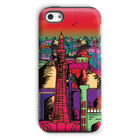 kite.ly Phone & Tablet Cases iPhone 5c / Tough / Gloss Lahore on Drugs Phone Case