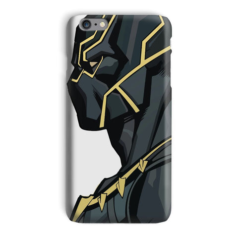 kite.ly Phone & Tablet Cases iPhone 6 Plus / Snap / Gloss Black Panther By Hassan Sheikh Phone Case