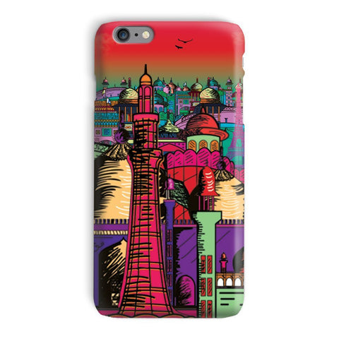 kite.ly Phone & Tablet Cases iPhone 6 Plus / Snap / Gloss Lahore on Drugs Phone Case