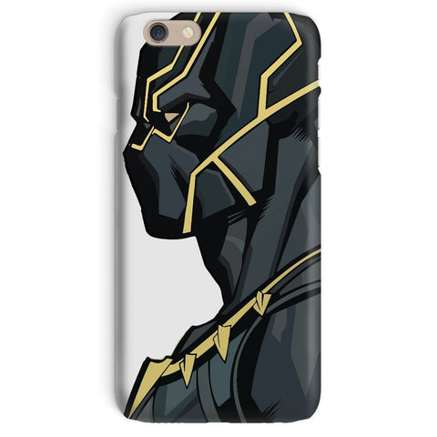 kite.ly Phone & Tablet Cases iPhone 6 / Snap / Gloss Black Panther By Hassan Sheikh Phone Case