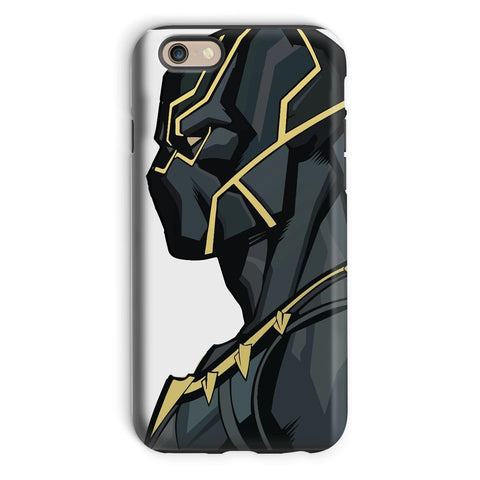 kite.ly Phone & Tablet Cases iPhone 6 / Tough / Gloss Black Panther By Hassan Sheikh Phone Case