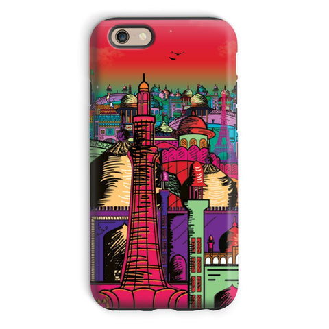 kite.ly Phone & Tablet Cases iPhone 6 / Tough / Gloss Lahore on Drugs Phone Case