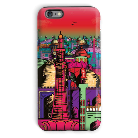 kite.ly Phone & Tablet Cases iPhone 6s Plus / Tough / Gloss Lahore on Drugs Phone Case