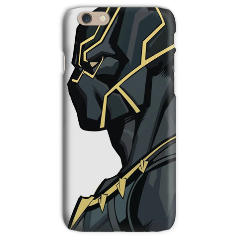 kite.ly Phone & Tablet Cases iPhone 6s / Snap / Gloss Black Panther By Hassan Sheikh Phone Case