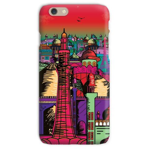 kite.ly Phone & Tablet Cases iPhone 6s / Snap / Gloss Lahore on Drugs Phone Case