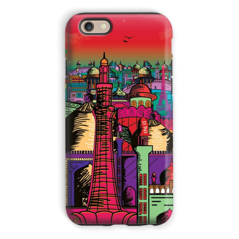 kite.ly Phone & Tablet Cases iPhone 6s / Tough / Gloss Lahore on Drugs Phone Case