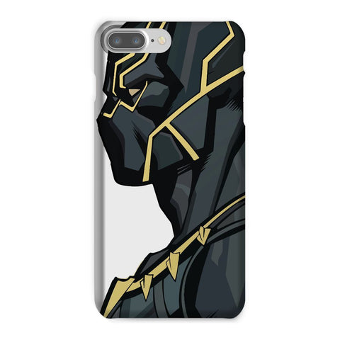 kite.ly Phone & Tablet Cases iPhone 7 Plus / Snap / Gloss Black Panther By Hassan Sheikh Phone Case