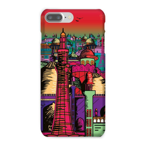 kite.ly Phone & Tablet Cases iPhone 7 Plus / Snap / Gloss Lahore on Drugs Phone Case