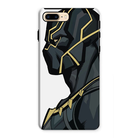 kite.ly Phone & Tablet Cases iPhone 7 Plus / Tough / Gloss Black Panther By Hassan Sheikh Phone Case