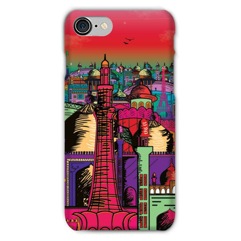 kite.ly Phone & Tablet Cases iPhone 7 / Snap / Gloss Lahore on Drugs Phone Case