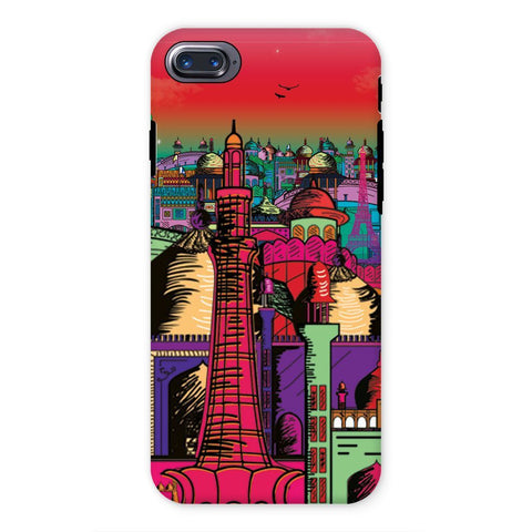 kite.ly Phone & Tablet Cases iPhone 7 / Tough / Gloss Lahore on Drugs Phone Case