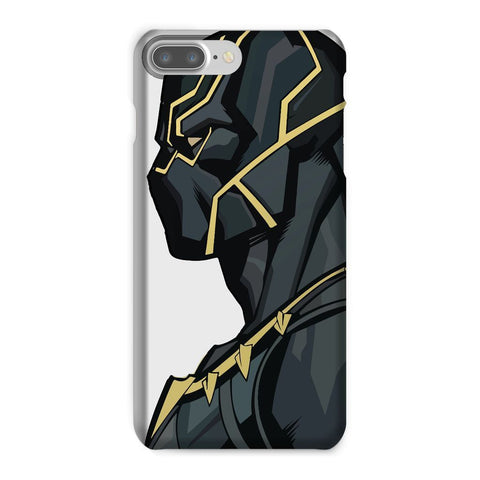 kite.ly Phone & Tablet Cases iPhone 8 Plus / Snap / Gloss Black Panther By Hassan Sheikh Phone Case