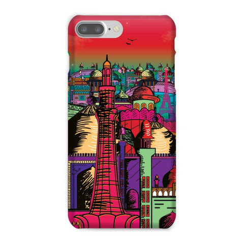 kite.ly Phone & Tablet Cases iPhone 8 Plus / Snap / Gloss Lahore on Drugs Phone Case