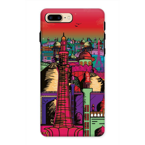 kite.ly Phone & Tablet Cases iPhone 8 Plus / Tough / Gloss Lahore on Drugs Phone Case