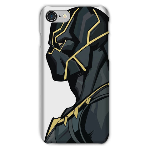 kite.ly Phone & Tablet Cases iPhone 8 / Snap / Gloss Black Panther By Hassan Sheikh Phone Case