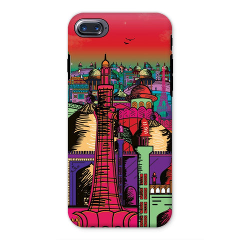 kite.ly Phone & Tablet Cases iPhone 8 / Tough / Gloss Lahore on Drugs Phone Case