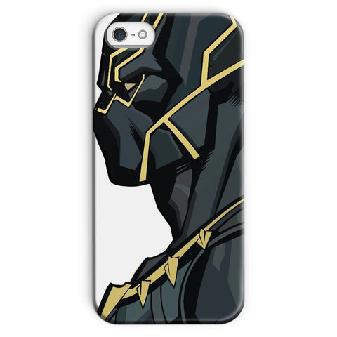 kite.ly Phone & Tablet Cases iPhone SE / Snap / Gloss Black Panther By Hassan Sheikh Phone Case